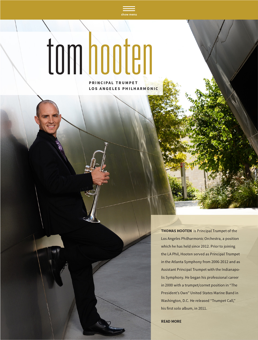 tom hooten website
